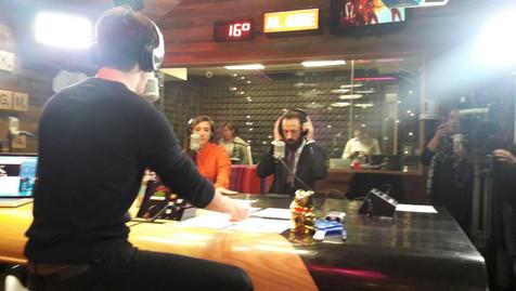 Interview with Roger Gonzalez in EXA FM