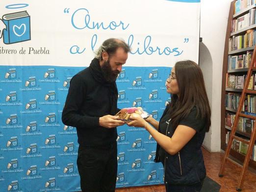 Prize recognition Centro Librero de Pueb