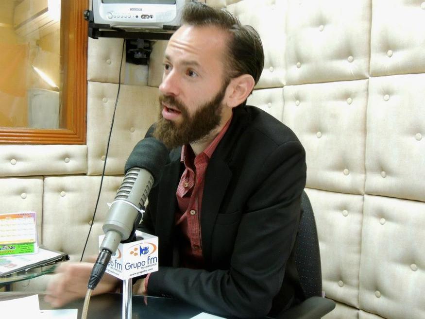 Interview with Grupo FM - Veracruz 2013