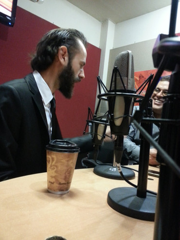 Interview in 89.7 fm UANL Mexico 2016 02