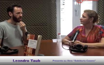 Leandro Taub con Liliaba Buadas para AM