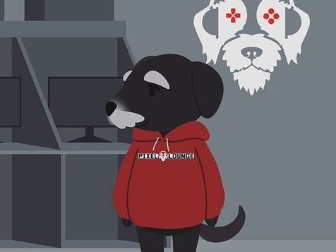 Here is our boy Alfie as an Animal Cross