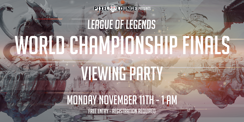 League of Legends 2019 World Championship Viewing Party