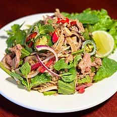 Pleah Sach-ko (Khmer beef salad)