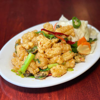 Fried Calamari at Simply Khmer Restauant