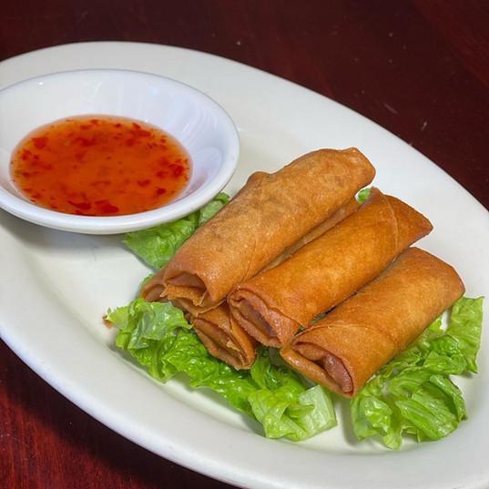 Egg Rolls at Simply Khmer Restaurant