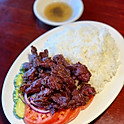 Bai Loc Lac (Rice with Marinated Steak Tips)