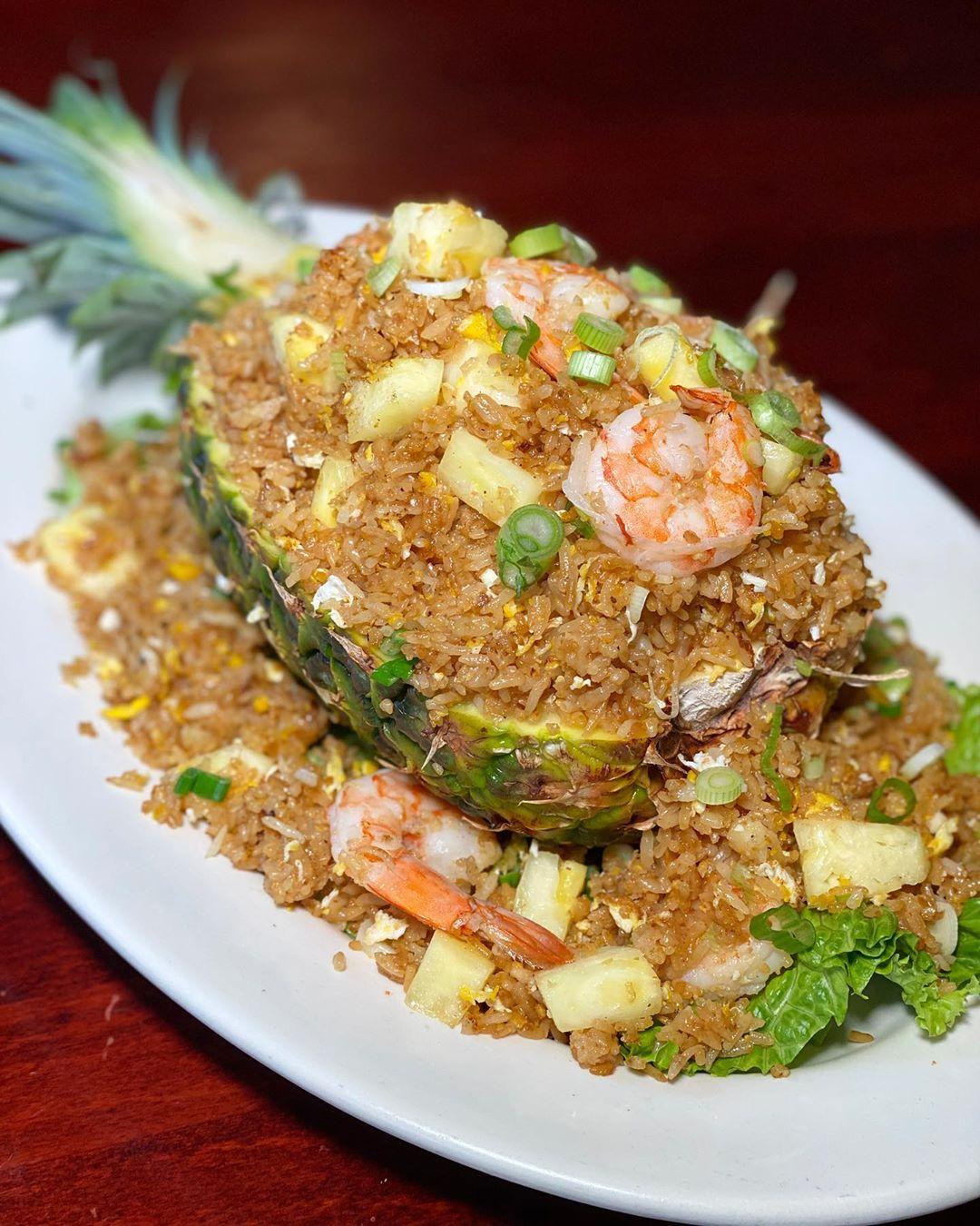 Pineapple fried rice- Shrimp