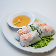 Nam Chow (Fresh Spring Rolls) 2 pieces