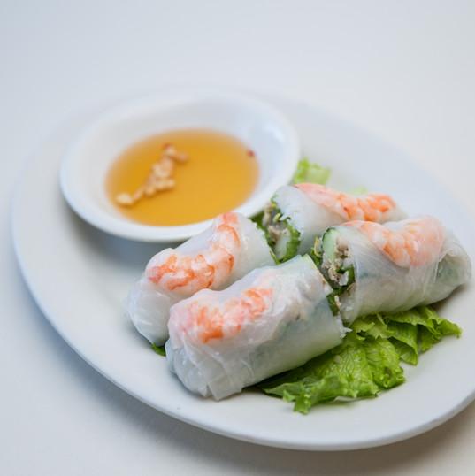 Spring Rolls at Simply Khmer Restaurant