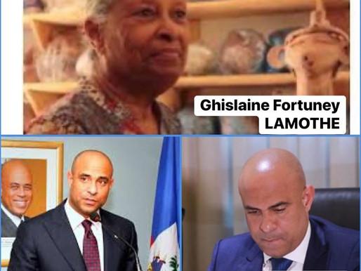 HAÏTI - DÉCÈS DE LA MÈRE DE L'EX-PREMIER MINISTRE LAURENT S. LAMOTHE