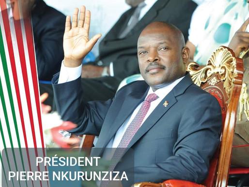 NÉCROLOGIE: DÉCÈS DE PIERRE NKURUNZIZA, PRÉSIDENT DU BURUNDI
