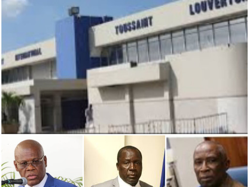 HAÏTI DÉCONFINEMENT: RÉOUVERTURE IMMINENTE DE L'AÉROPORT INTERNATIONAL TOUSSAINT LOUVERTURE