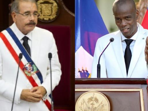 COVID -19: ENTRETIEN ENTRE LES PRÉSIDENTS DOMINICAIN ET HAITIEN CE 19 MAI.