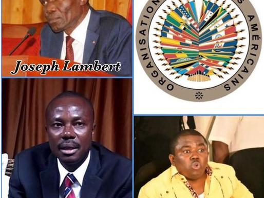 CRISE POLITIQUE : L'OEA ANNONCE L'ENVOI D'UNE MISSION EN HAÏTI