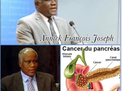 NÉCROLOGIE : DÉCÈS DE L'ANCIEN SÉNATEUR ET MINISTRE DE L'INTÉRIEUR HAÏTIEN, ANNICK FRANÇOIS JOSEPH