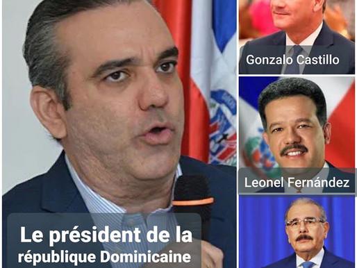 PRÉSIDENTIELLES DOMINICAINES : LA VICTOIRE DU GAGNANT RECONNUE PAR SES CONCURRENTS.