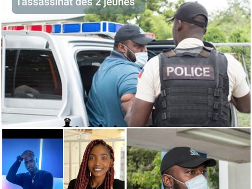 MEURTRE: LE SUSPECT DE L'ASSASSINAT DES 2 JEUNES DANSEURS, RENDU À LA POLICE
