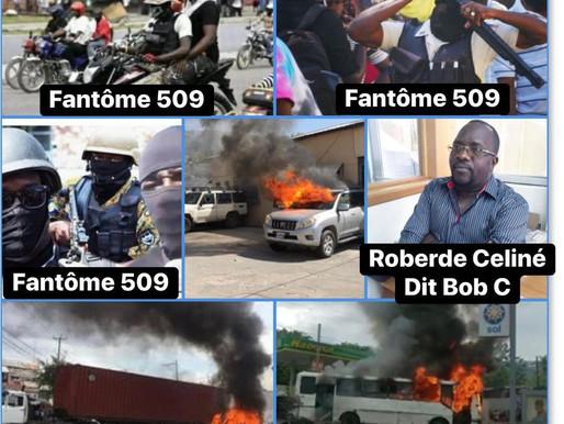 VIOLENCE : FANTÔME 509 A ENCORE TERRORISÉ PORT-AU-PRINCE