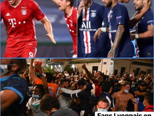 FOOTBALL: VICTOIRE DU BAYERN FACE AU PSG, LES FANS DE L'OM FONT LA FÊTE EN FRANCE