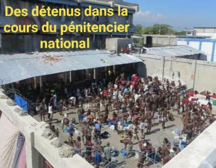 COVID-19 HAITI: DES PRISONNIERS ATTEINTS