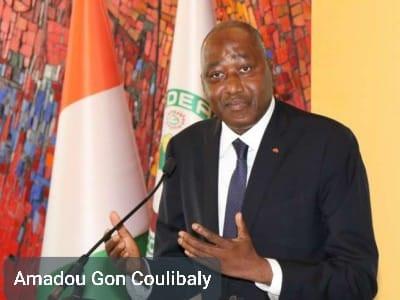 EN AFRIQUE: DÉCÈS DU PREMIER MINISTRE, AMADOU GON COULIBALY EN CÔTE D'IVOIRE.