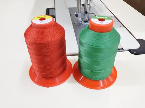 張替え、修理に使用する糸について
