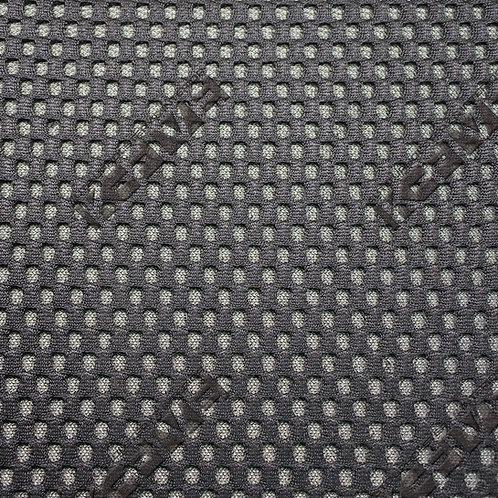 フェラーリ ルーフライナー用 3Dメッシュ生地 ブラック×グレー