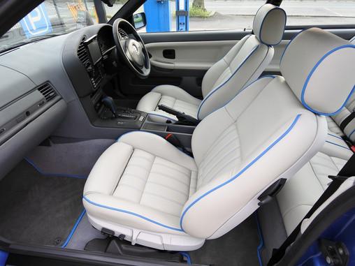 BMW 3シリーズ E36  本革 シート張替え