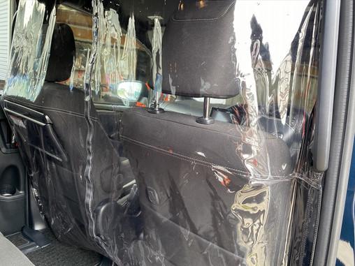 トヨタ 80 ノア ボクシー  エスクァイア 間仕切りカーテン ビニール