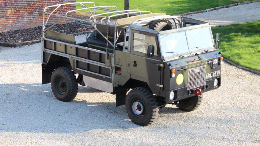 (LEFT HAND DRIVE) - 1980 Land Rover 101 Forward Control