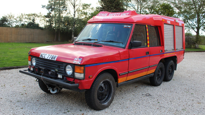(SOLD) - 1977 Carmichael Fire and rescue 6x6 Range Rover