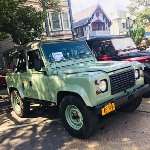 2 Defenders just arrived in New York for our customer Sonia !!