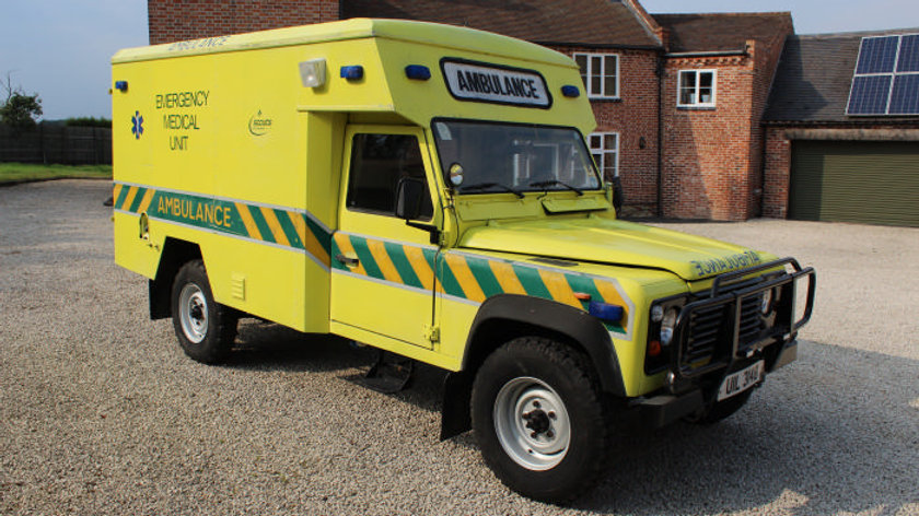 1988 127 Ambulance V8 Left Hand Drive