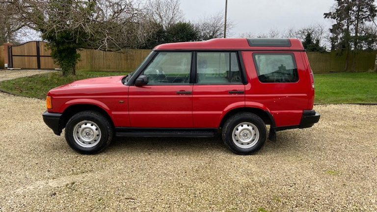 1999 Land Rover Discovery Td5 GS