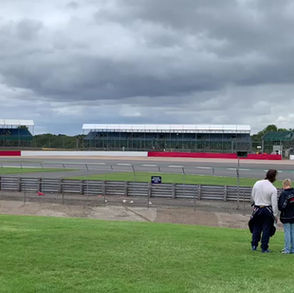 Silverstone with the Bentley Drivers club