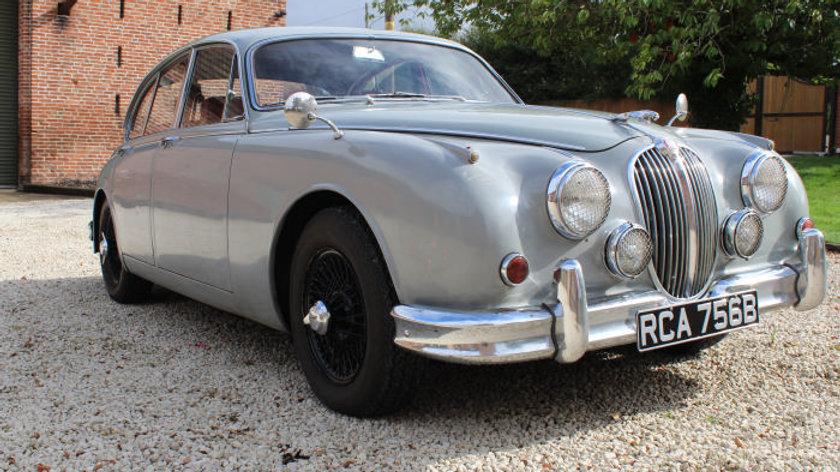 (SOLD) - 1964 Jaguar MK2 3.4 Manual O/d