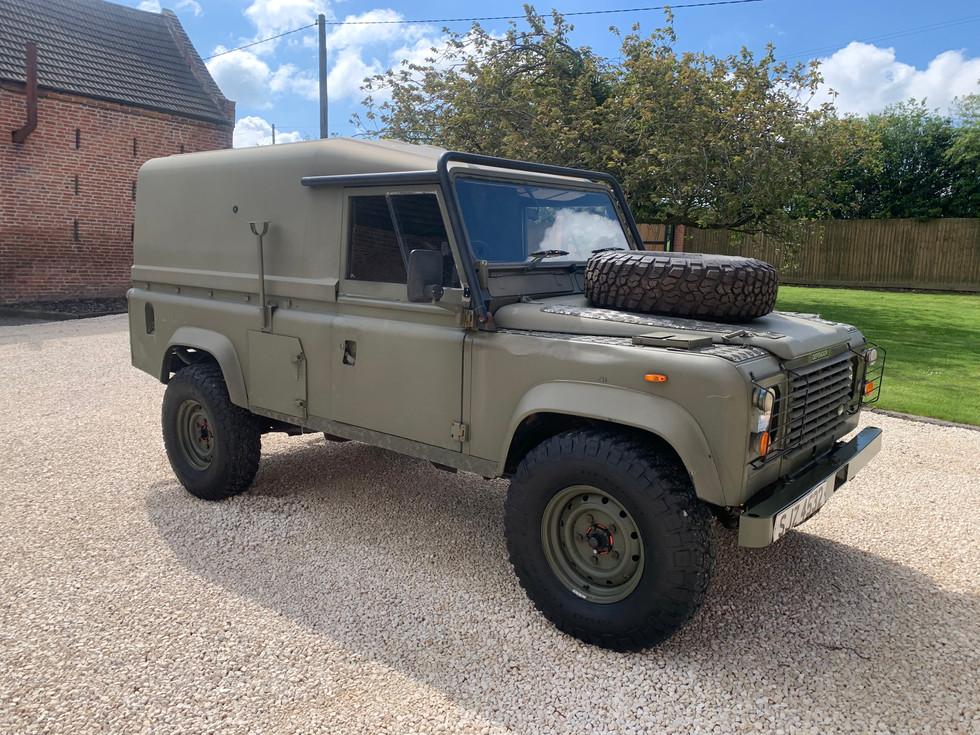 1991 Land Rover Defender 110 Ex MOD Tithonus Hardtop, V8 Automatic