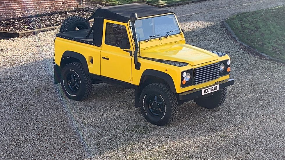 1994 90 300Tdi Soft top
