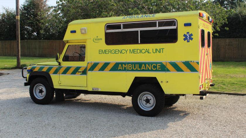 1988 127 Ambulance V8 Left Hand Drive