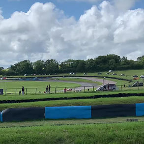 Fun weekend at Lydden on the hill in dover racing the Healey 3000