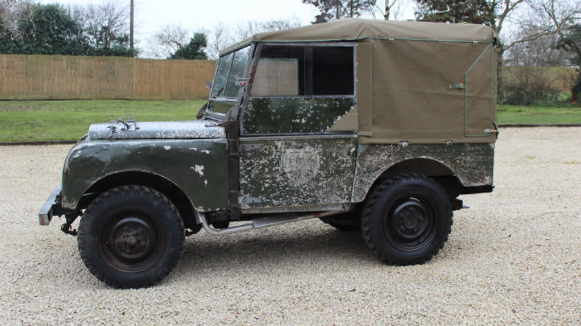 """(ONLY 25,752 MILES) - 1950 Series 1 80"""" 2 Owners unrestored survivor"""