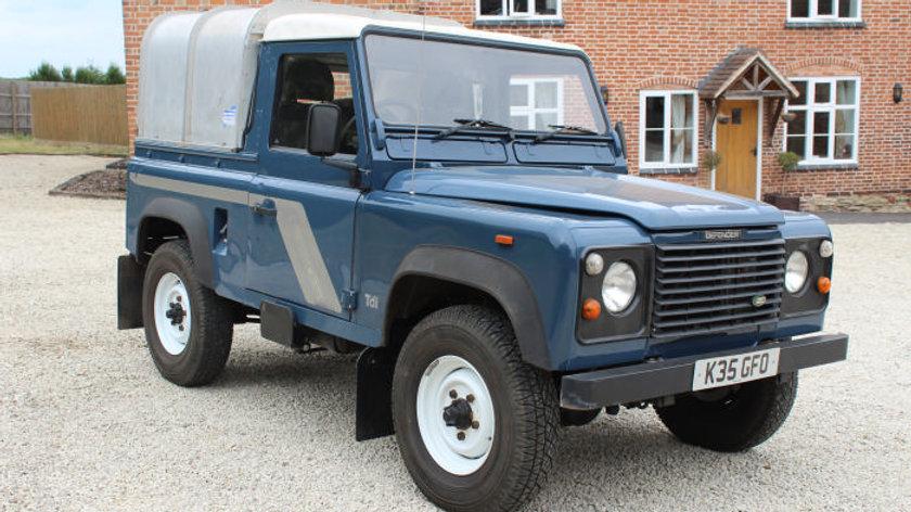 (SOLD) - 1992 90 Truck Cab 200Tdi