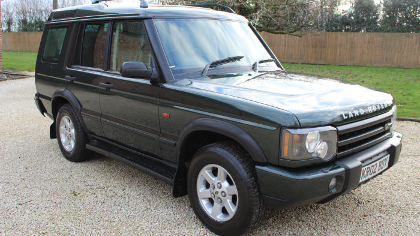 (SOLD) - 2002 Land Rover Discovery Td5 Gs7 Auto, Facelift