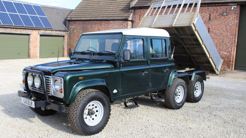 (SOLD) - 1994 150 Td5 Double Cab Tipper