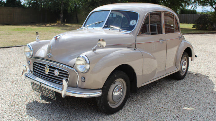 (SOLD) - 1956 Morris Minor Split Screen 803cc