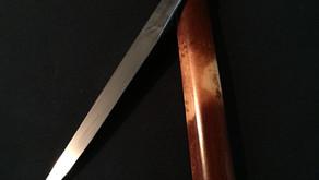 玉鋼ナイフ 玉鋼ペーパーナイフ