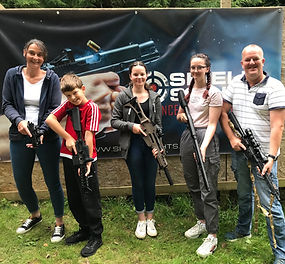 Family fun on our range today!!! #actionair #ipsc #shootingsports #dorset #summerholidays