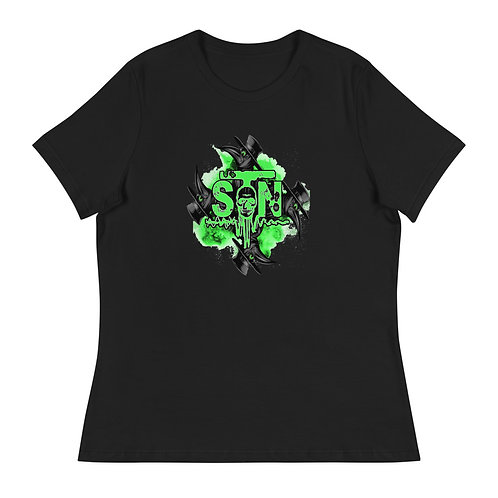 Sygnal To Noise - WOMEN'S CUT RELAXED FIT T-SHIRT