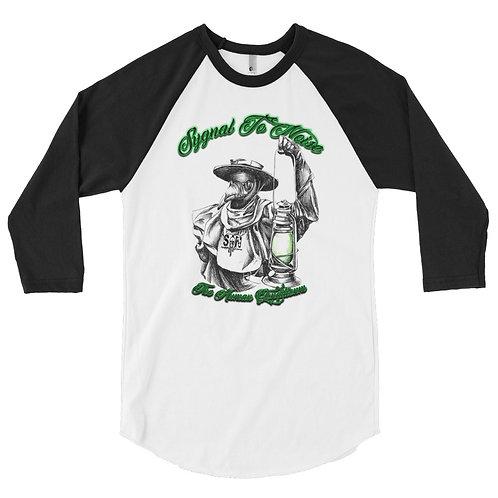 Human Condition - 3/4 Sleeve Raglan T-Shirt